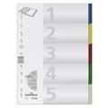 DURABLE Indexes 6370, A4 (5 Colours)