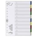 DURABLE Indexes 6740, A4 (10 Colours)