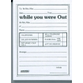 BESFORM Telephone Message Pad BVTM150, 150 Sheets
