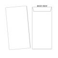 BESFORM White Envelope - Peal & Seal 4.25''x8.75'', 20's
