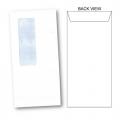 BESFORM White Envelope - Window, Peal & Seal 4''x9'', 20's