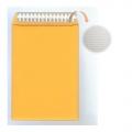 "BESFORM Gold Kraft Envelope, Peal & Seal Airpak 9x12.7"""
