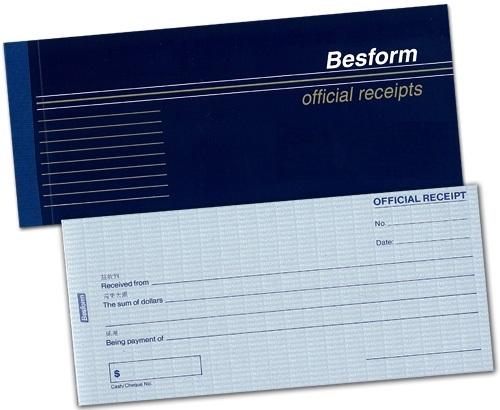 OFFICIAL RECEIPT 50X2 BSOR502 – Official Receipt