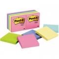 3M Post-it Premium Notes Pad 654-AST 3'' x 3'' (Pastel)