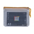 POP Bazic Clear PVC Soft Mesh Bag A5 Blue