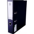 POP Urban PP Lever Arch File with Index, Black