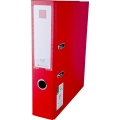 POP Urban PP Lever Arch File with Index, Red