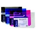 Pop Bazic 11-Hole Binder Carry File A4 3006 Blue