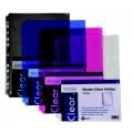 Pop Bazic 11-Hole Binder Carry File A4 3008 Smoke