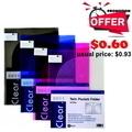 Pop Bazic Twin Pocket Folder A4  3011 Red