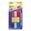 3M DURABLE  Index Tabs 686 1'' x 1.5'' (Red/Yellow/Blue)