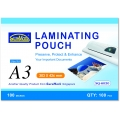 SUREMARK A3 Laminating Pouch, 100's