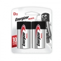 Energizer Max Battery D (PKT2)