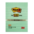 """3M Post-it Super Sticky Line Note 643S- Green 3""""x4"""""""