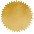 Common Seal Sticker, Ø51mm x 100's (Gold)
