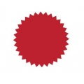 Common Seal Sticker Ø51mm - Red
