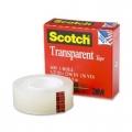 SCOTCH Premium Transparent Tape 600 1/2'' x 36 yards