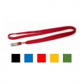 POP BAZIC Lanyard with Metal Clip (Red)