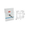 STZ Acrylic Leaflet Holder 51005 A4