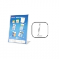 STZ Acrylic Literature Holder 51014 A3 Vertical