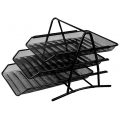 Deli Document Tray 3 Tier (Wire) 918
