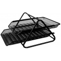 Deli Document Tray 2 Tier (Wire) 918