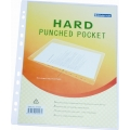 Bindermax Hard Pocket with 11 Holes (Clear)