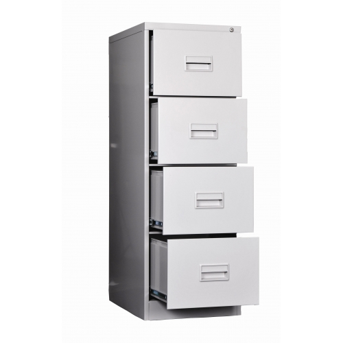 Beautiful 4 Drawer Filing Cabinet TWS 4400