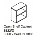 Open Shelf Cabinet 8822/O Grey