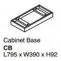 Cabinet Base CB Panel Grey
