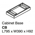 SHINEC Cabinet Base CB Panel (Cherry)