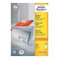 AVERY ZWECKFORM White Label 3427 105mmx74mm (800 Labels)