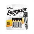 ENERGIZER  Alkaline Battery E92 AAA, 4's