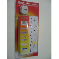 3 Way Extension Cord (6 meters)