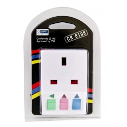 3 Way Adapter with Individual On/Off