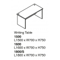 SHINEC Writing Table 1500 (Beech)