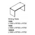 SHINEC Writing Table 1600 (Cherry)