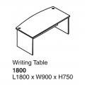 SHINEC Writing Table 1800 (Cherry)