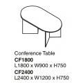 SHINEC Conference Table CF2400 (Grey)