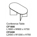 SHINEC Conference Table CF2400 (Cherry)