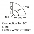 SHINEC Connection Top CT90 (Beech)