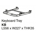 SHINEC Keyboard Tray KB (Grey)