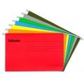 Esselte Suspension File F4 ES393117 Red