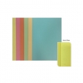 POP BAZIC Paper Inner File, F4 10's (Yel)