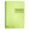 GZ Gambol Twin Ring Notebook B5, Green