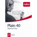 NOBO Flip Chart Pad w/4-Hole, A1 80g 40's