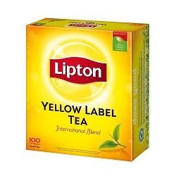 LIPTON Yellow Label Teabags 100's