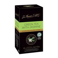 LIPTON Sir Thomas Green Tea & Jasmine Tea Bag 25's