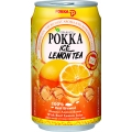 POKKA Lemon Tea - 300ml x 24 Cans
