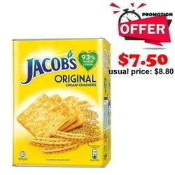 JACOB'S Cream Crackers - Tin 700g